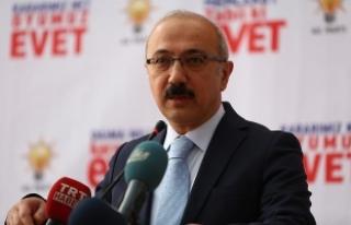 """Kalkınma Bakanı Elvan: """"Allah'tan kork..."""