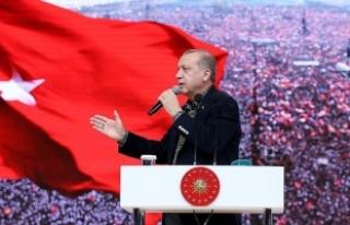 Erdoğan: İstersem yarın gelir dünyayı ayağa...