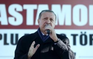Erdoğan: Edep, erkan bilmeyenler meseleyi peygambere...