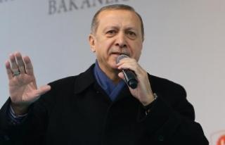 Erdoğan: Kıytırık pankart mı bizi yolumuzdan...