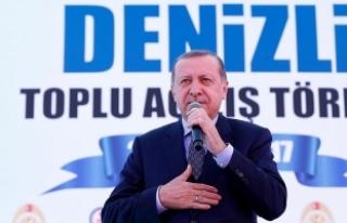 Erdoğan: Partim beni aday yaparsa o zaman beraber...