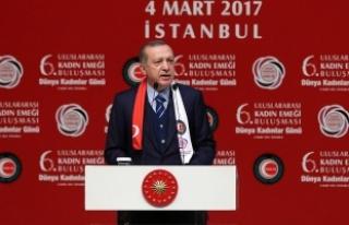 Erdoğan: PYD'nin Moskova'daki faaliyetlerine...