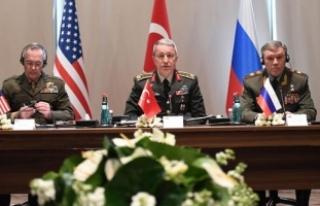 Genelkurmay Başkanlarının üçlü toplantısı...