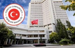 Hollanda'nın Ankara Büyükelçiliği Maslahatgüzarı...