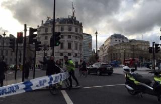 İngiltere Parlamentosu yakınlarında silah sesleri...