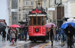 İstanbul'a yağış uyarısı