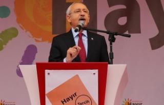 Kılıçdaroğlu: Sivrihisar ilçesi dünyanın merkezi