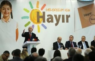 Kılıçdaroğlu: Hep birlikte daha fazla demokrasi...