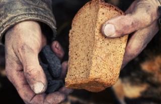 Mart ayında 4 kişilik bir ailenin açlık sınırı...