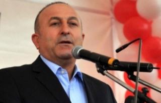 Dışişleri Bakanı Çavuşoğlu'nun Hollanda'da...