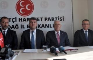 MHP'li Durmaz: Anayasa değişikliğini Türkiye...