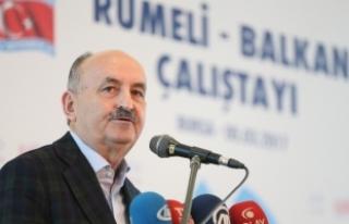 Çalışma ve Sosyal Güvenlik Bakanı Müezzinoğlu:...