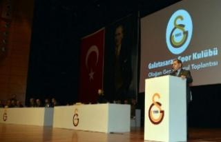 Özbek: Galatasaray'ın UEFA'ya katılması...