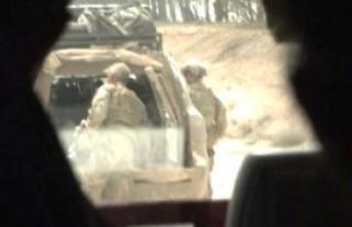 Ruslar, ABD Askerlerini Rakka'daki Cephe Hattında...