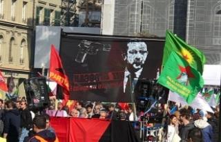 Terör örgütü İsviçre'de Erdoğan'ı...