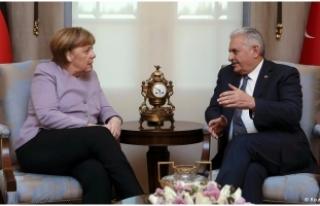 Yıldırım'dan Merkel İle Görüşmesi Sonrası...