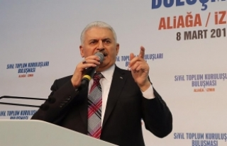 Yıldırım: 16 Nisan'da Türkiye 'evet'le...