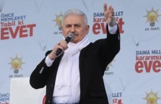 Yıldırım: Türkiye'de cumhurbaşkanlığı...