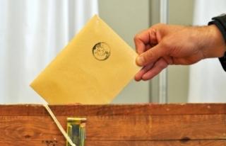 Yurt içi seçmen sayısı 55 milyon