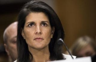ABD'nin BM Daimi Temsilcisi Haley'den 'Esed'...