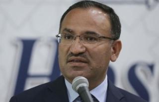 Bakan Bozdağ: AKPM, terör örgütlerinin sözcüsü...