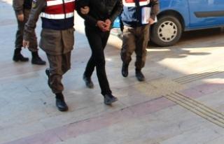 Aydın'da terör örgütü propagandasına tutuklama
