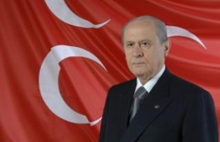 MHP Lideri Bahçeli'den İstanbul'daki parti...