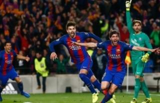 Barcelona Bernabeu'dan lider döndü