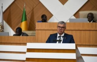 Başbakan Yardımcısı Kaynak Mali'de