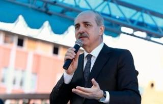 Kurtulmuş: Bu beyler, büyük Türkiye'den korkuyor