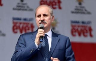 Başbakan Yardımcısı Kurtulmuş: Türkiye'nin...