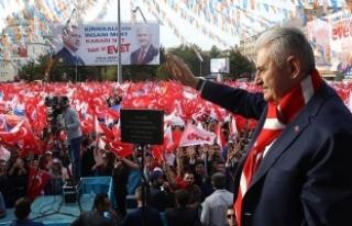Başbakan Yıldırım: CHP anamuhalefet partisi sana...