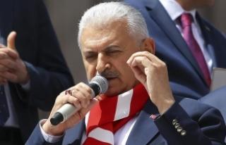 Başbakan Yıldırım: CHP'nin de hali pek parlak...