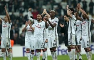 Beşiktaş zirvede doludizgin
