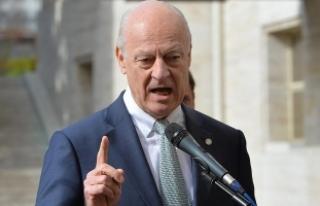 BM Suriye Özel Temsilcisi : Bunun havadan gelen bir...
