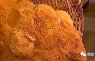 Çin'de 70 milyon yıllık dinozor yumurta fosili...