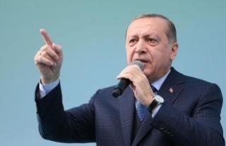 Cumhurbaşkanı Erdoğan: Ey katil Esed sen bunların...