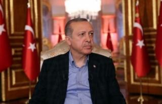 Cumhurbaşkanı Erdoğan: Genel Başkanı olduğu...