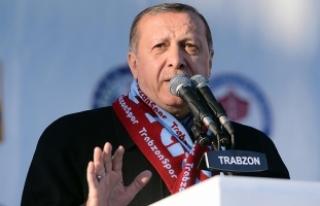 Cumhurbaşkanı Erdoğan: Yeni harekatların hazırlıklarını...