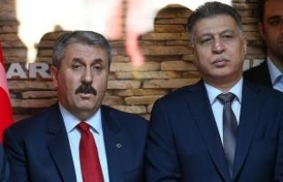 Destici: Türkiye Cumhuriyeti devletinin dostluğunu...