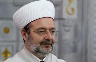 """""""Salaları, F16 seslerine karşı galip kılan Allah'a..."""
