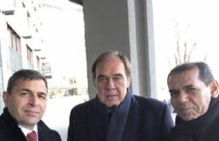 Dursun Özbek, UEFA Başkanı Ceferin ile bir araya...