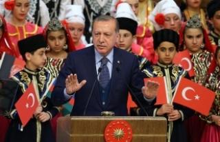 Erdoğan: Çocuğun olduğu yerde biz başka bir ölçü...