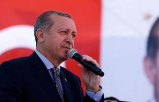 Erdoğan: Elinde silahla dolaşanlarla barış olur...