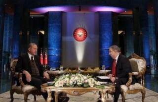 Erdoğan: Kerkük tarihi itibarıyla bir Türkmen...