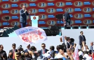 Erdoğan: Türk milleti Batı'nın liderlerine...