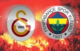 Galatasaray ile Fenerbahçe'nin gol dakikaları