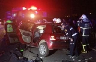 Gaziantep'te zincirleme kaza: 5 ölü, 5 yaralı