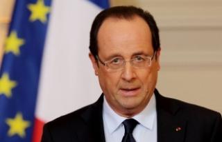 Hollande, Esed rejimi için yaptırım istedi