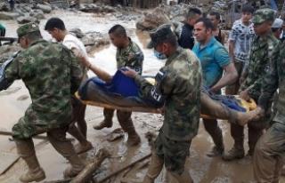 Kolombiya'da sel felaketinde ölenlerin sayısı...